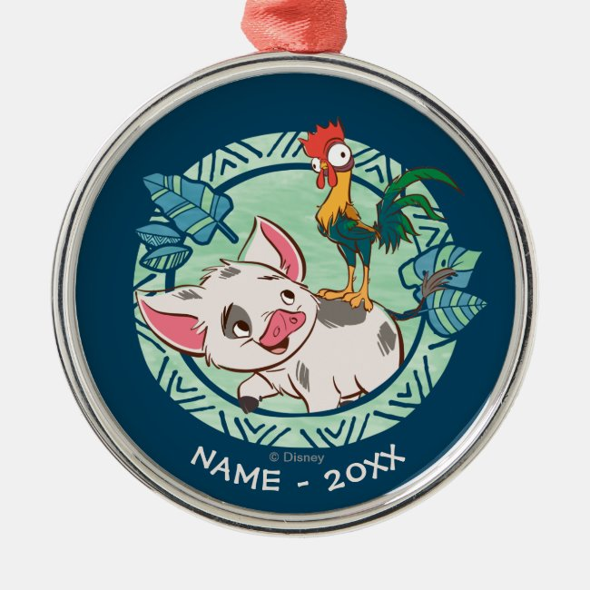 Personalized Disney Moana Medal