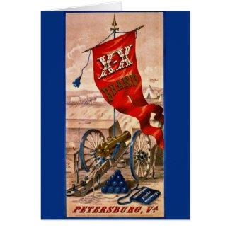 Retro Tobacco Label 1857 Card