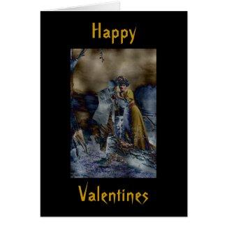 Vintage Gothic Valentines Day Card