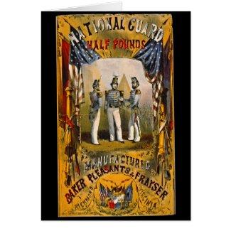 Retro Tobacco Label 1857 b Card