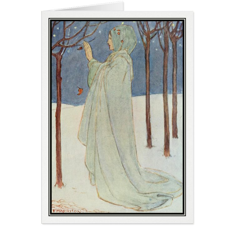 Summer (Winter) by Florence Harrison Card