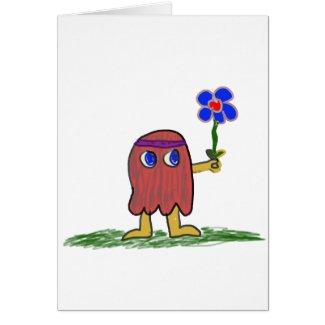 Hippie Dippy Flower Card