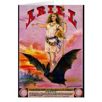 Retro Tobacco Label 1869 e Card