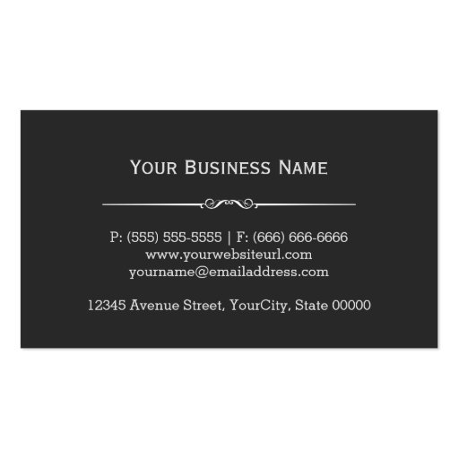 Construction Tile Installer Stylish Easy Customize Business Cards (back side)