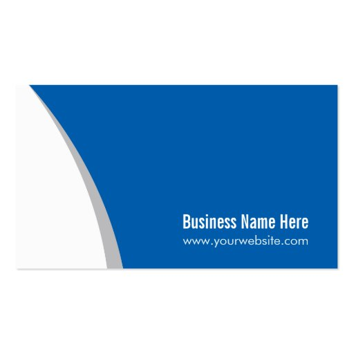 Corporate QR Code Logo - Modern Stylish Navy Blue Double-Sided Standard Business Cards (Pack Of 100) (back side)