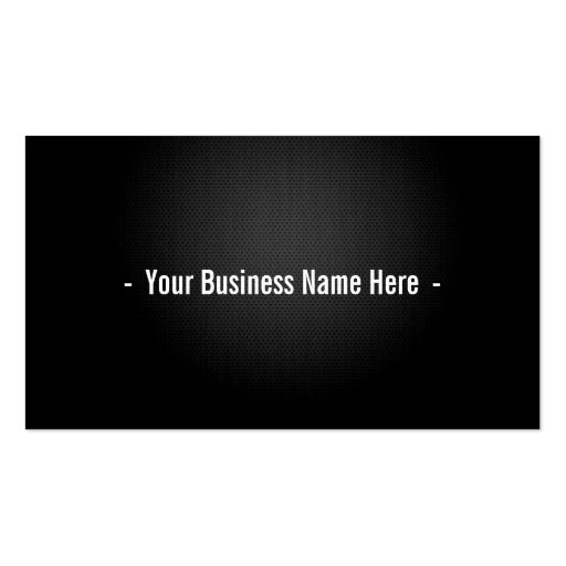 Professional Modern Black Silver Metallic QR Code Double-Sided Standard Business Cards (Pack Of 100) (back side)