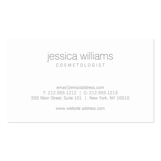 Elegant Beauty Gold Wood Art Motif Double-Sided Standard Business Cards (Pack Of 100) (back side)