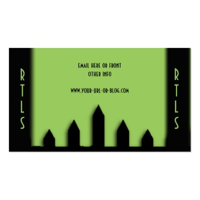 Lawn Service Landscape Double Side Double-Sided Standard Business Cards (Pack Of 100)