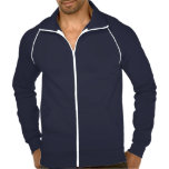 <p>This best-selling California Fleece track jacket by American Apparel is extra thick for added warmth, yet it's breathable. Stay comfortable while walking, jogging, or hanging out outside with this jacket made of 100% extra soft ringspun combed cotton. Customize to make it your own!</p>