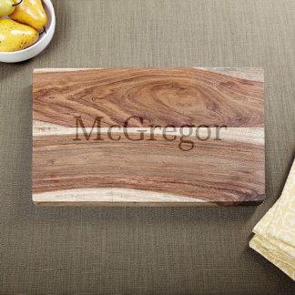 Exotic Hardwood Classic Cut Cutting Board