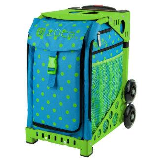 ZÜCA Rolling Bag w/Orbz & Green Sport Frame