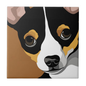 Chihuahua Lover Gifts Tile