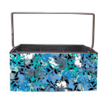Floral Camouflage Everyday Desk Caddy