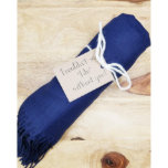 """Bridesmaid Pashmina Shawl With Custom Gift Tag<br><div class=""""desc"""">The perfect Fall and Winter scarf. Makes a great Christmas gift! This super soft monogram pashmina scarf is perfect for keeping you warm this Fall and Winter! Made from a 100% acrylic knit available in 10 different colors! These scarves will keep your neck, shoulders and chest nice and toasty. These...</div>"""