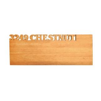 Tabla de cortar de madera - rectángulo