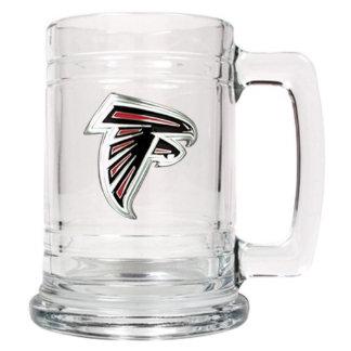 Atlanta Falcons NFL Medallion Glass Beer Mug