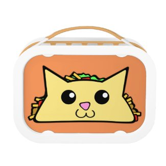 Taco Cat Lunch Box