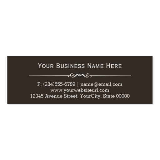 Handyman Home Improvement Carpentry Repairs Double-Sided Mini Business Cards (Pack Of 20) (back side)
