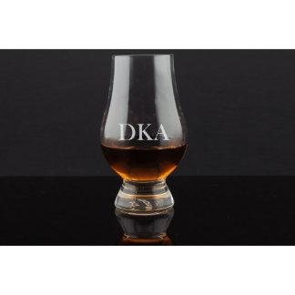 Glencairn Engraved Whiskey Glass
