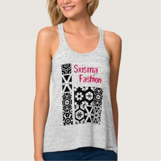 Sxisma Fashion Women's Bella Flowy Crop Tank Top