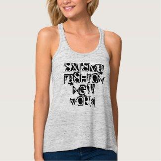 Fashion-3 Women's Racerback T-Shirt, Eggshell Shirt