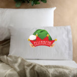 """Kids Elf Christmas Character Pillowcase<br><div class=""""desc"""">Make this holiday season truly special for the little ones with our Personalized Kids Christmas Pillows. An excellent choice when thinking about personalized gifts for kids,  choose from our Elf,  Santa,  Reindeer or Snowman. There is sure to be a character for everyone!</div>"""