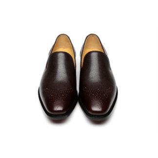 Venetian Brown Handmade Goodyear Welted Loafer