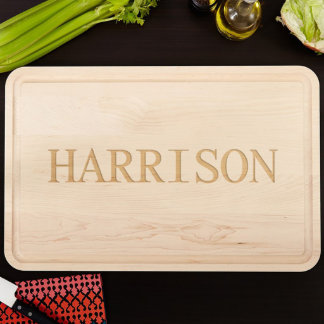 Grandiose Classic Cut Wood Cutting Board