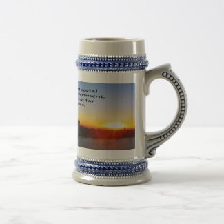 The American Dream Beer Stein
