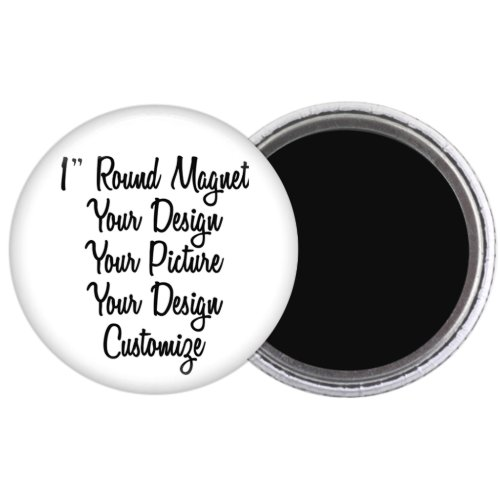 1 Round Create Your Own Magnet