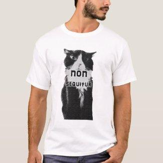 Trippy tshirts: Non sequitur cat tshirt