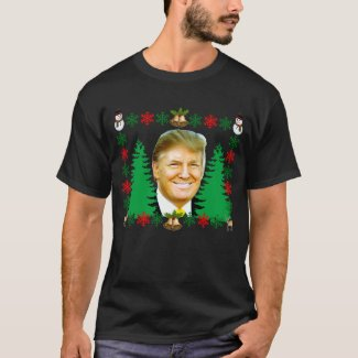 TRUMP MERRY CHRISTMAS T-shirt