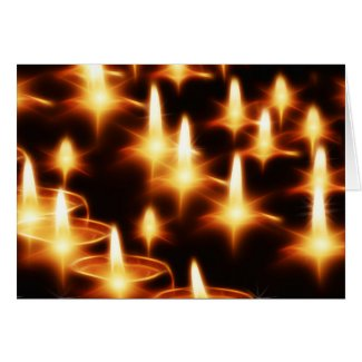 The Light of the Season Greeting Card