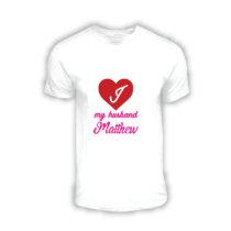 I Love My... Valentines Day Tee