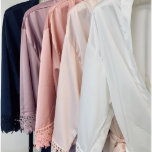"""Elegant Scripted Title Satin Bridal Robes<br><div class=""""desc"""">This bridesmaid gift is one of our most popular items for brides.</div>"""