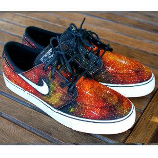 Nike Zoom Stefan Janoski Solar Flare Galaxy Skate