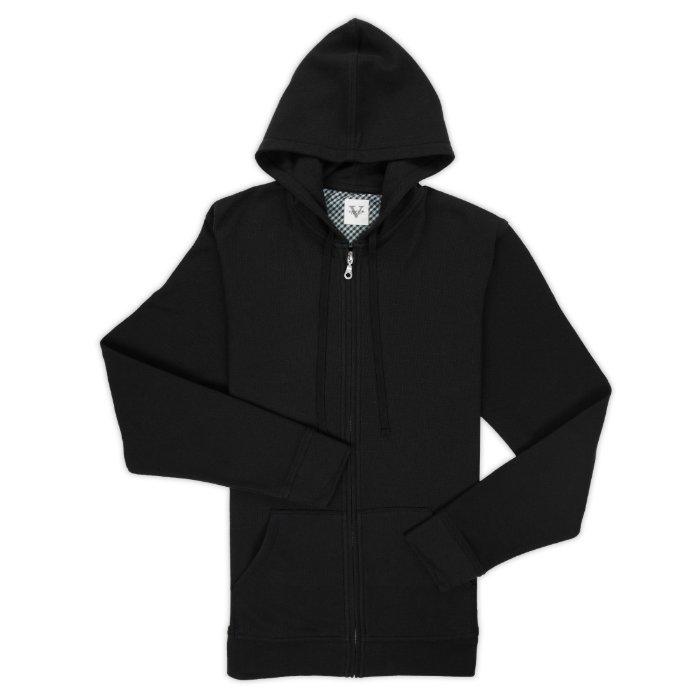 Custom Black Hoodie by Vastrm