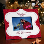 """Christmas Tapestry Personalized Picture Frame<br><div class=""""desc"""">A great way to highlight a favorite photo memory,  this frame is sturdy and stylish. Ideal presents for newlyweds or for your favorite family!</div>"""