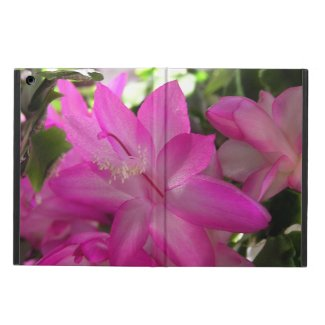 Hot Pink Flowers Cover For iPad Air