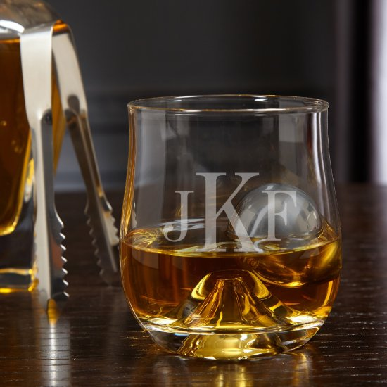 Stainless Steel Whiskey Ball Set with Rocks Glass