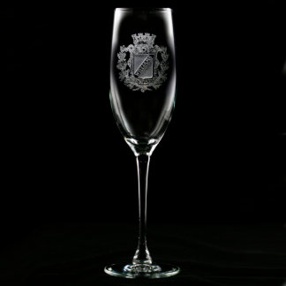 Regal Crest Personalized Champagne Flute