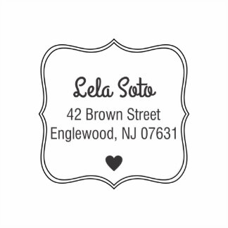 With Love Self Inking Stamp
