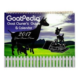 Goat Calendar GoatPedia™ Goat Owner's Guide
