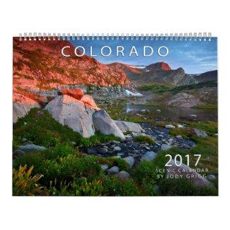 2017 Colorado Scenic Calendar
