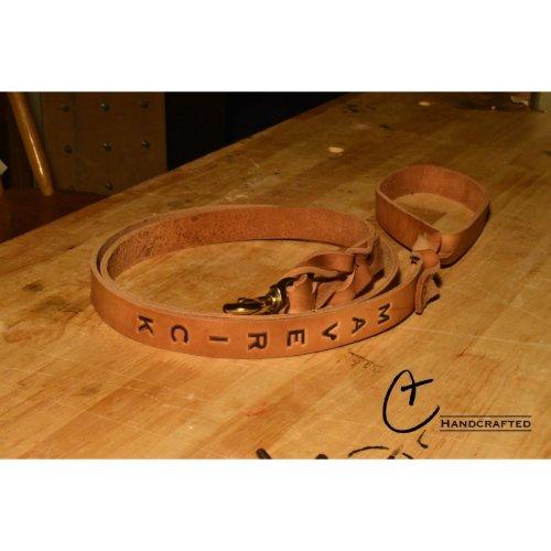Hand Made Leather Dog Leash