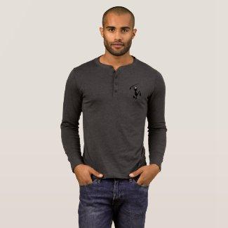 Seawall Waves Henley T-Shirt