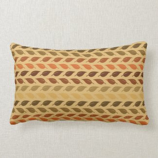 Fall Colors Leaves Foliage Thanksgiving Earthy Pillow