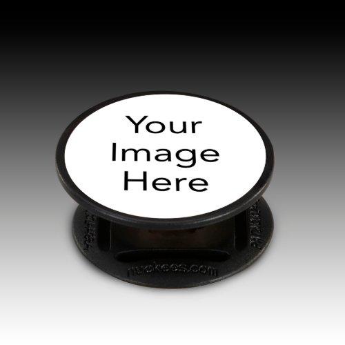 Neat And Handy Black Nuckees™ Phone Grip