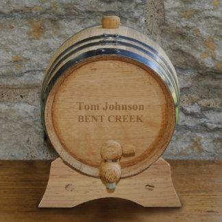 Personalized Whiskey Barrel - 2 Liter