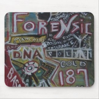 FORENSIC 187 MOUSE PAD